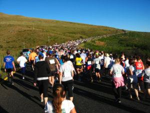 start of the Longtom Marathon