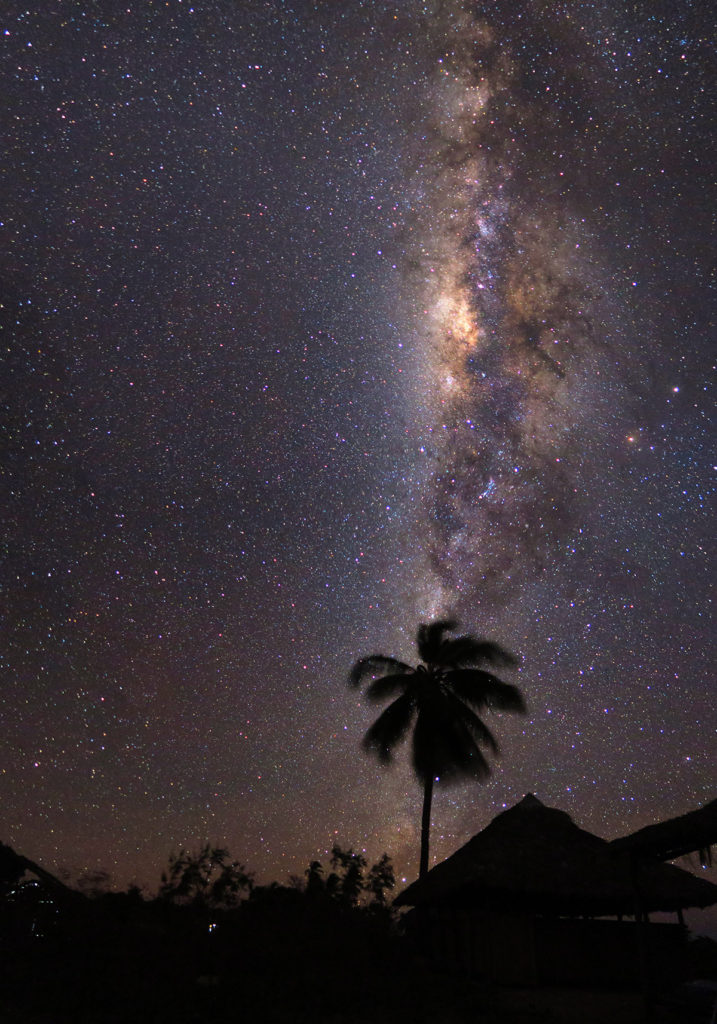 "The night sky above our home on Nosy Mitsio. ""The heavens declare his glory!"" Pray that the Antakarana would know the intimate love and ultimate power of the Creator: Jesus!"