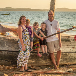 The Orner family in Madagascar