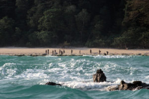 "The ""Sentinelese"" people of North Sentinel Island."
