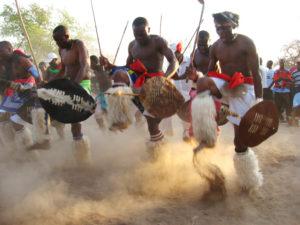 Mchongolo dancing