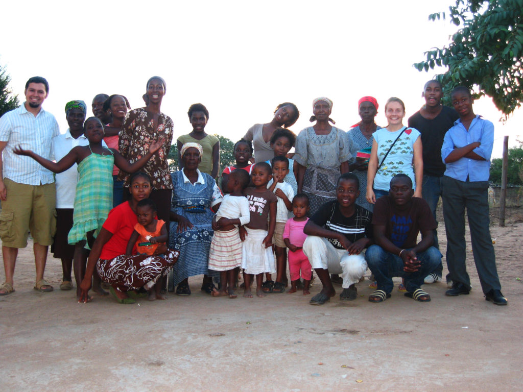 Our host family in South Africa
