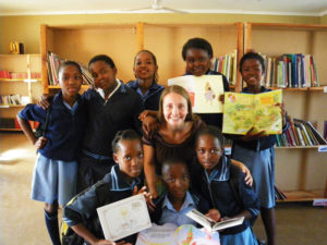 library helpers from Welani Primary