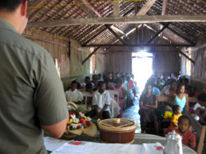Adam at a YWAM Tamatave church in Madagascar