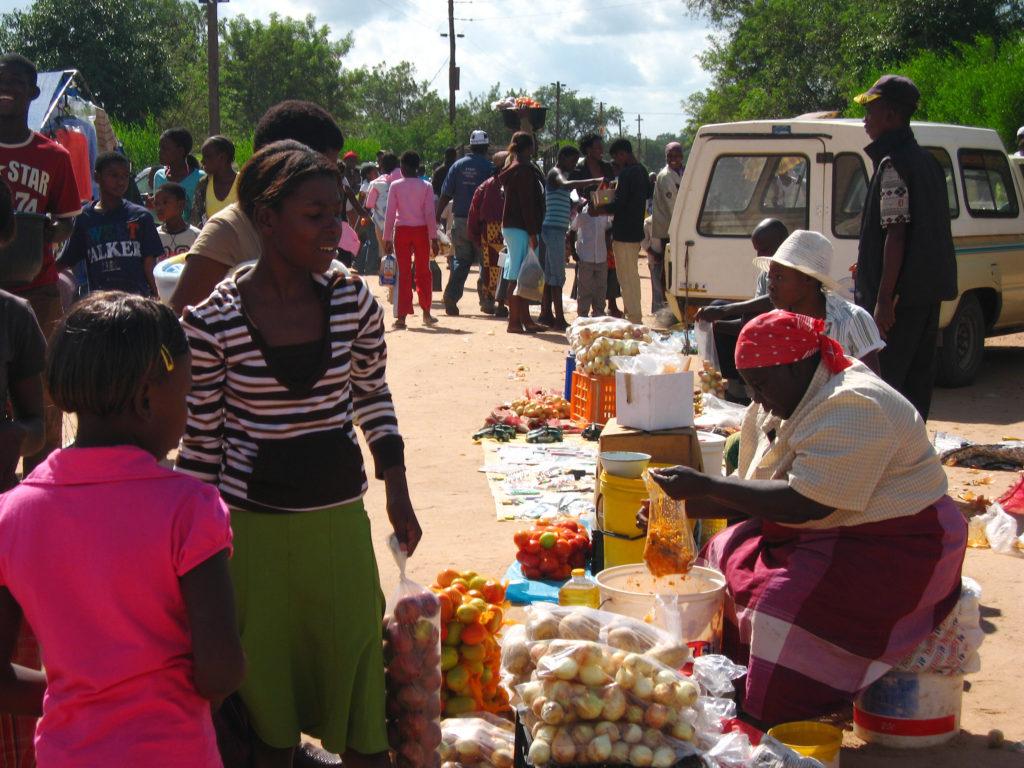 Market in Dumphries