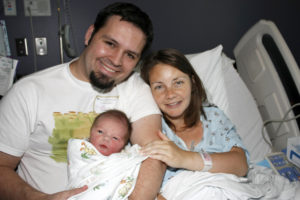 Adam & Lora with the newest member of the Willard family!