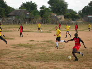 Ulusaba's Arsenal match at Dumphries
