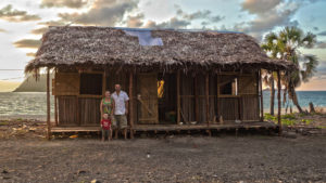 Our finished home on Nosy Mitsio