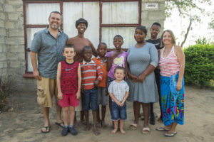 Visiting our former village in South Africa (where we were Peace Corps Volunteers).  It was great to be with our host family again after so many years!
