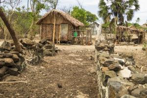 Ancestral ruins in our village on Nosy Mitsio
