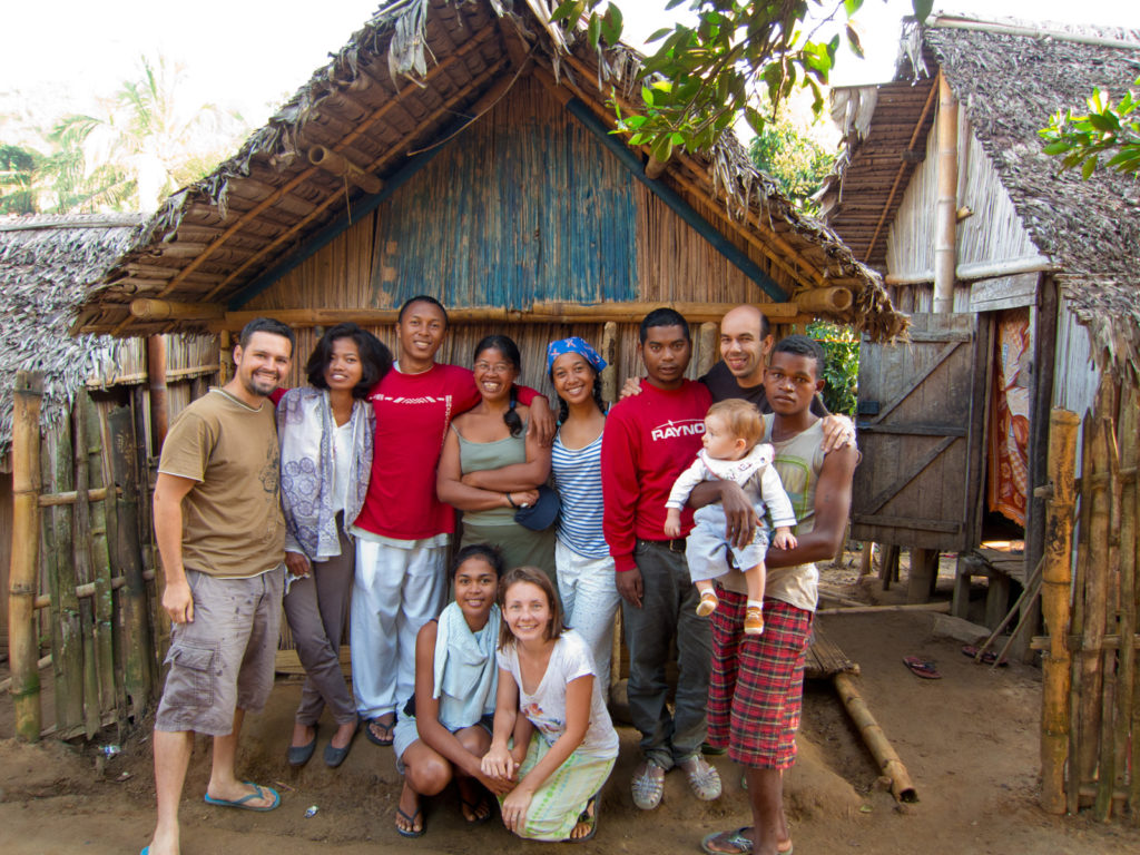 Our DTS outreach team to the village of Antenina in 2012