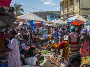 At the markets in Ambilobe
