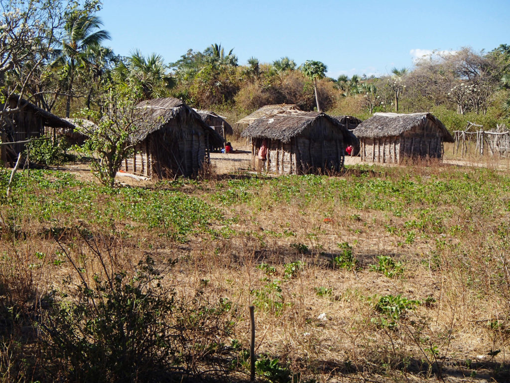 One of the small villages on Nosy Mitsio