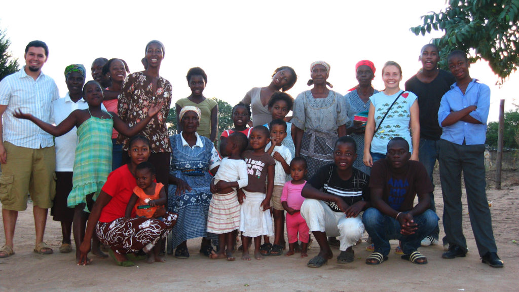 Us with our host family when we served as Peace Corps Volunteers in South Africa from 2008-2010